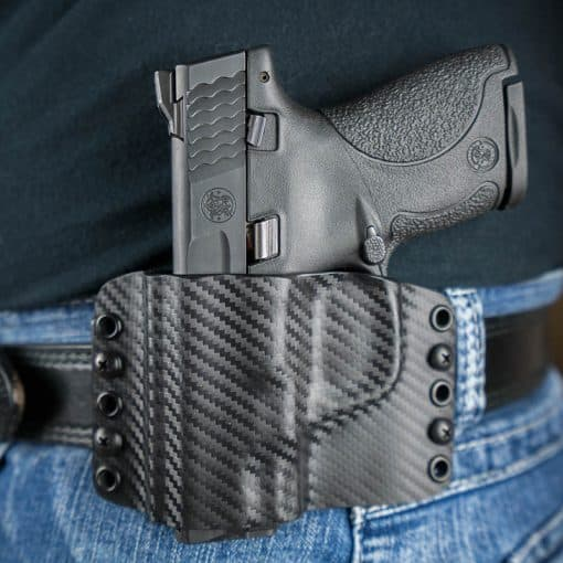 S&W J-frame Revolver OWB Kydex Holster - Made in U.S.A. - Lifetime ...