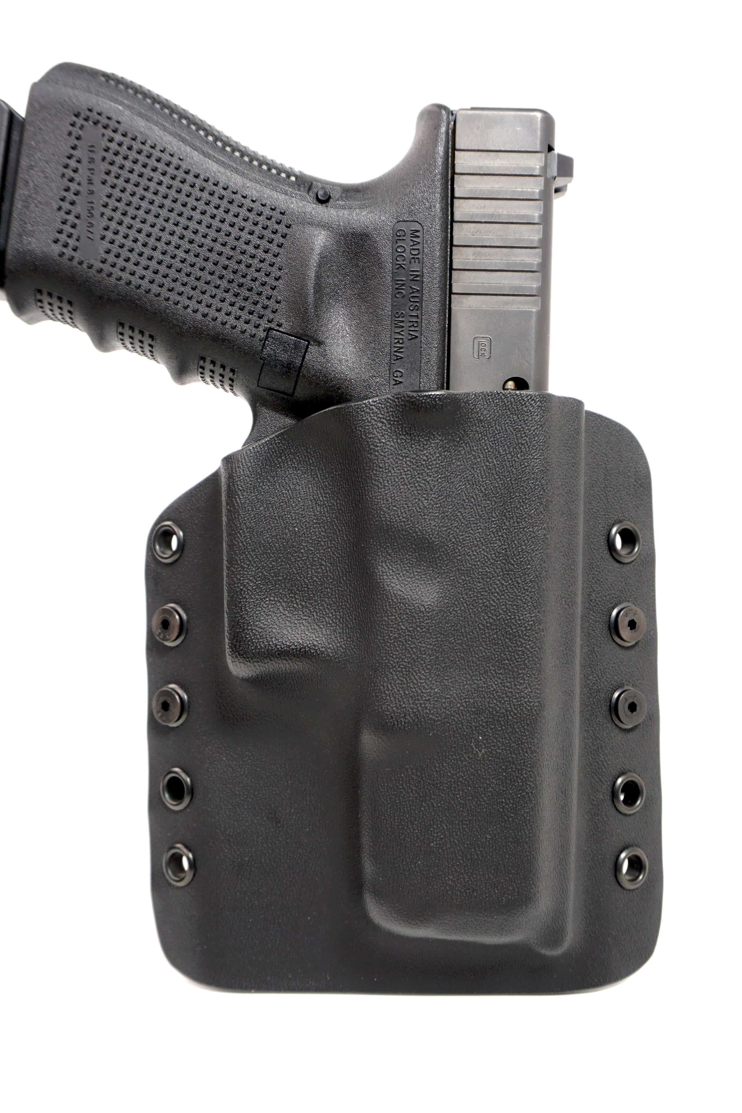 Leather Kydex Paddle Gun Holster LH RH For FN 509